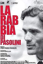 La rabbia di Pasolini Poster
