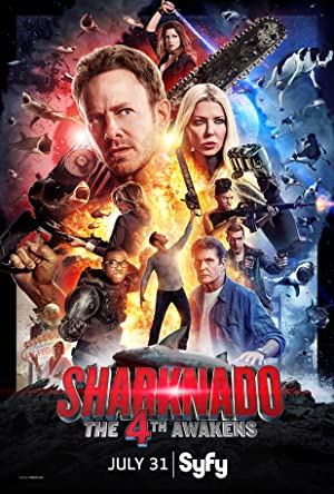 Sharknado 4: The 4th Awakens (2016) Download on Vidmate