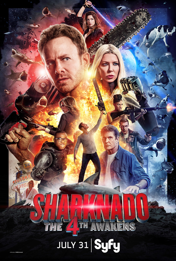 image Sharknado 4: The 4th Awakens (2016) (TV) Watch Full Movie Free Online
