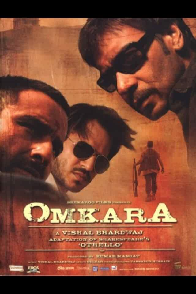 Omkara 2006 Full Hindi Movie 480p HDRip 300MB
