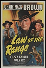 Law of the Range Poster