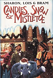 Candles, Snow and Mistletoe Poster
