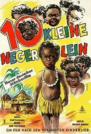 Zehn kleine Negerlein Poster