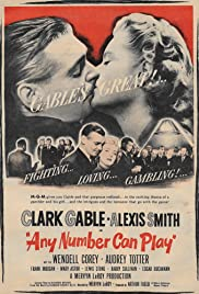 Any Number Can Play (1949) Poster - Movie Forum, Cast, Reviews