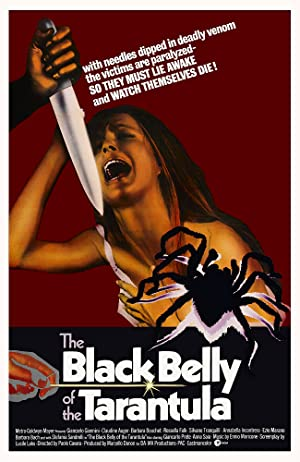 Black Belly of the Tarantula poster