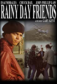 Rainy Day Friends Poster