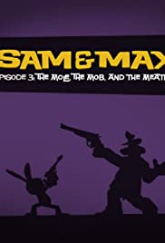 Sam and Max: The Mole, the Mob, and the Meatball Poster