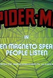 When Magneto Speaks... People Listen Poster
