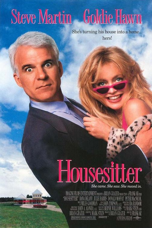 Steve Martin and Goldie Hawn in HouseSitter (1992)