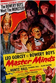 Master Minds (1949) Poster - Movie Forum, Cast, Reviews
