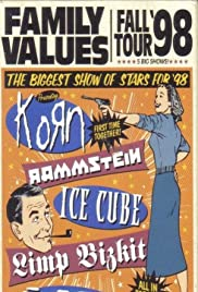 Family Values Fall Tour '98 Poster