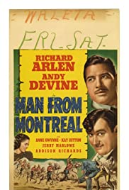 Man from Montreal Poster