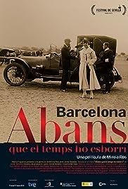 Barcelona, abans que el temps ho esborri Poster