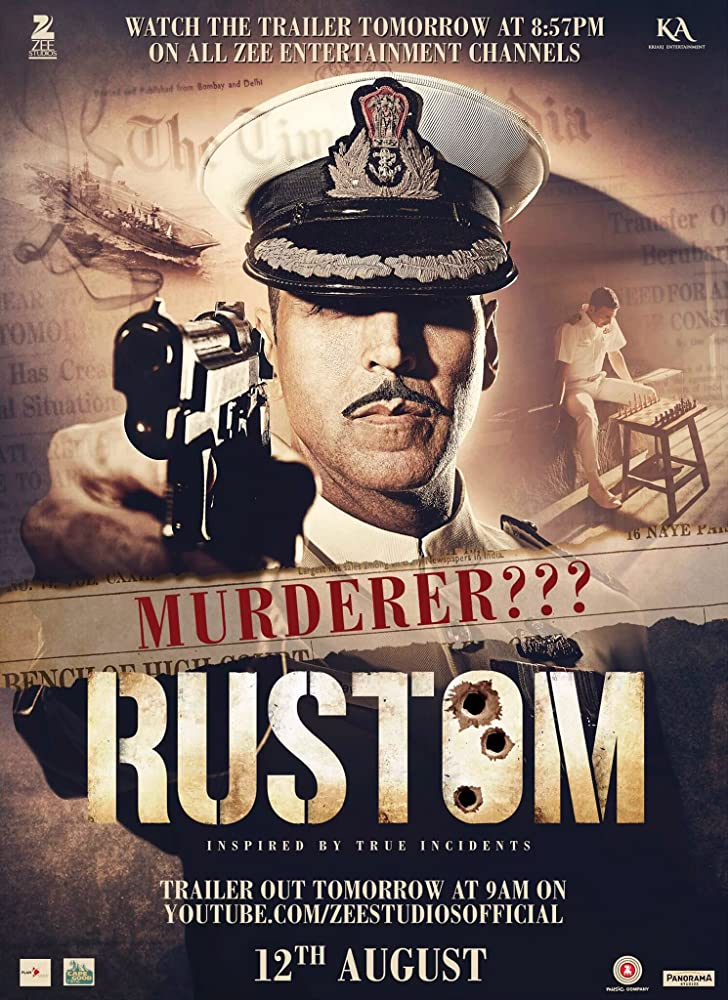 Rustom 2016 720p HDRip Watch Online Free Download At Movies365
