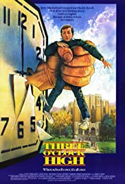 Three O'Clock High (1987) Poster - Movie Forum, Cast, Reviews