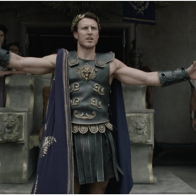 Aaron Jakubenko and Genevieve Aitken in Roman Empire: Reign of Blood (2016)