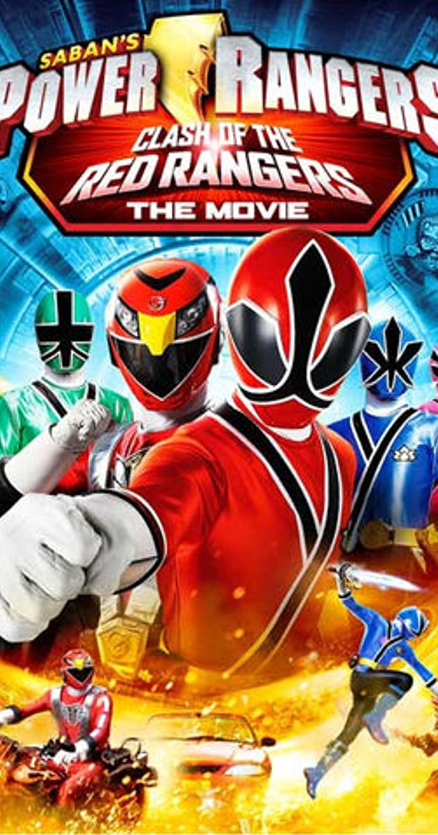 Power Rangers Samurai: Clash of the Red Rangers - The Movie 2013 Web-Dl