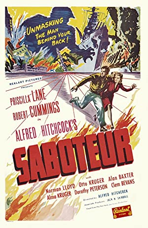 Poster Saboteure
