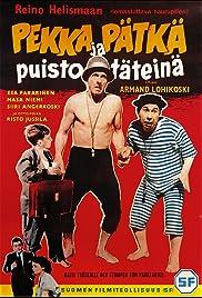Pekka ja Pätkä puistotäteinä Poster
