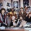 Cleavon Little, Michael Brandon, Eileen Brennan, Alex Karras, Martin Mull, and Cassie Yates in FM (1978)