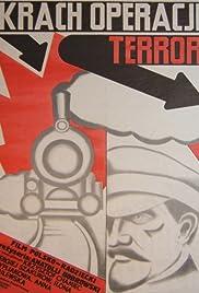 Krakh operatsii Terror Poster