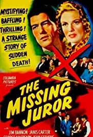 The Missing Juror (1944) Poster - Movie Forum, Cast, Reviews