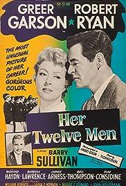 Her Twelve Men(1954) Poster - Movie Forum, Cast, Reviews