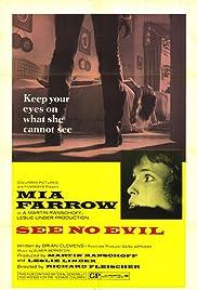 See No Evil(1971) Poster - Movie Forum, Cast, Reviews