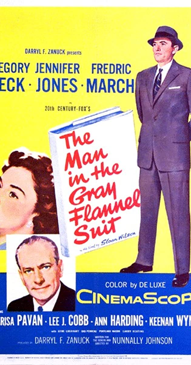 The Man In The Grey Flannel Suit Book