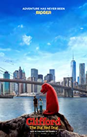 Clifford the Big Red Dog (2021) poster