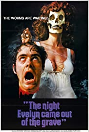 The Night Evelyn Came Out of the Grave Poster