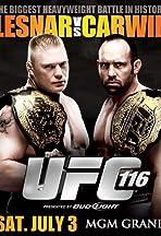UFC 116: Lesnar vs. Carwin