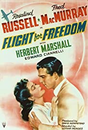 Flight for Freedom (1943) Poster - Movie Forum, Cast, Reviews