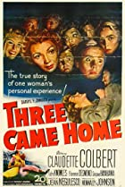 Three Came Home (1950) Poster