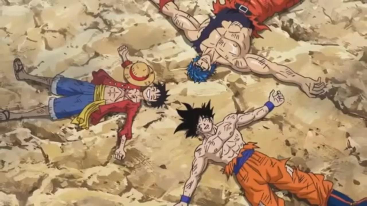 Toriko x One Piece x Dragon Ball Z Especial