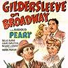 Billie Burke, Claire Carleton, and Harold Peary in Gildersleeve on Broadway (1943)