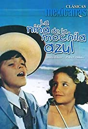 La niña de la mochila azul Poster