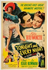 Tonight and Every Night (1945) Poster - Movie Forum, Cast, Reviews
