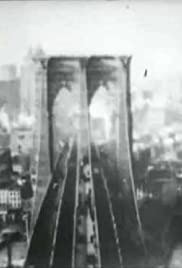 Panorama from the Tower of the Brooklyn Bridge Poster