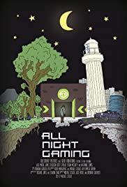All Night Gaming Poster