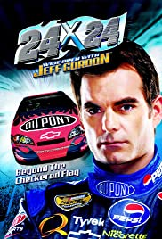 24 x 24 Wide Open with Jeff Gordon Poster