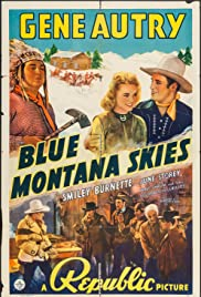 Blue Montana Skies Poster