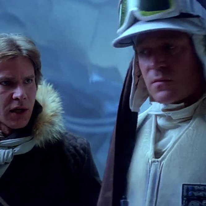 Harrison Ford and Norwich Duff in Star Wars: Episode V - The Empire Strikes Back (1980)