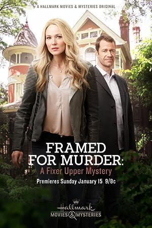 Poster Framed for Murder: A Fixer Upper Mystery