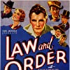 Harry Carey, Andy Devine, Raymond Hatton, Russell Hopton, Walter Huston, Ralph Ince, and Russell Simpson in Law and Order (1932)