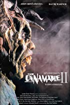 The Unnamable II: The Statement of Randolph Carter (1992) Poster