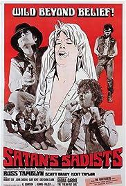 Satan's Sadists(1969) Poster - Movie Forum, Cast, Reviews