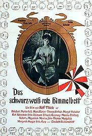 Das schwarz-weiß-rote Himmelbett Poster