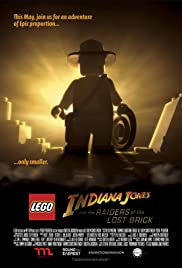 Lego Indiana Jones and the Raiders of the Lost Brick Poster