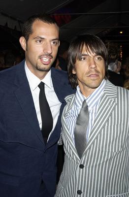 Anthony Kiedis and Guy Oseary